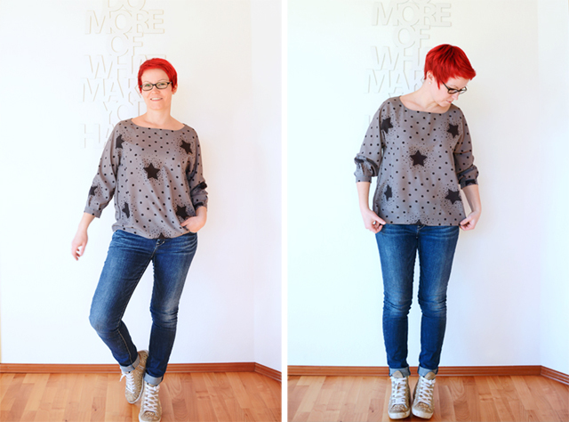 Twist-it! Bluse von schneidernmeistern @frauvau.blogspot.de