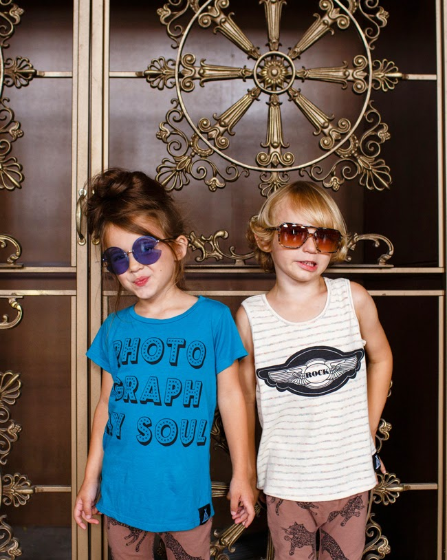 Quinn & Fox SS15 kidswear collection and Sons + Daughters eyewear