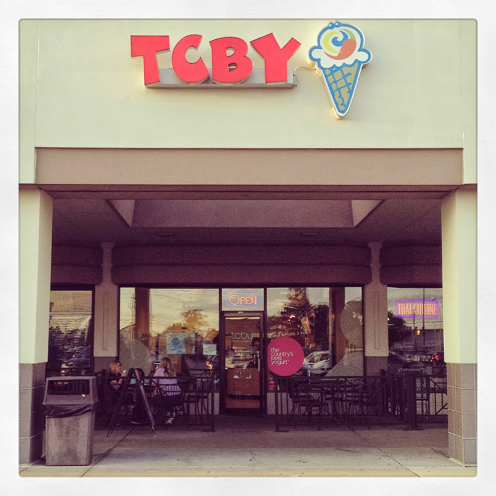TCBY Storefront Exterior
