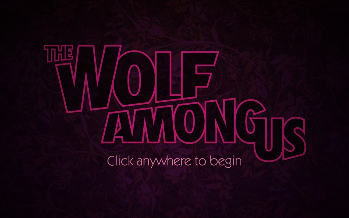 The Wolf Among Us screen title