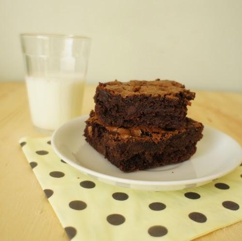 brownie de farinha de amêndoa