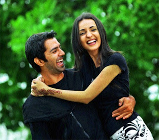 Iss Pyaar Ko Kya Naam Doon TV Show Pictures of Arnav and Khushi