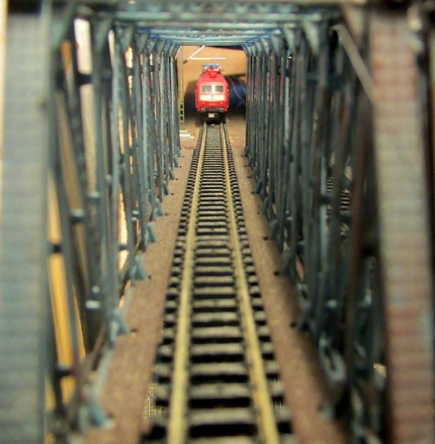 puente ferroviario maqueta