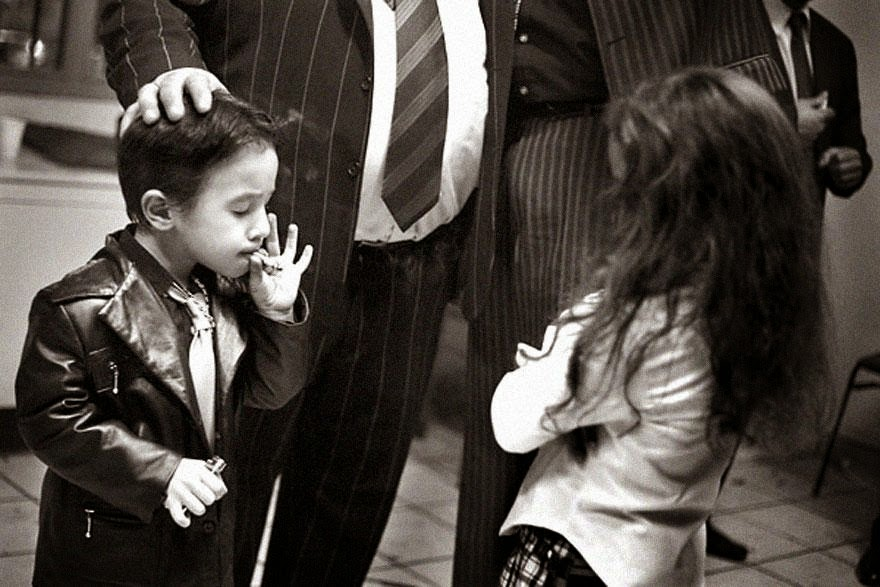 30 of the most powerful images ever - Five-year-old gypsy boy on New Year's Eve 2006 in the gypsy community of St. Jacques, Perpignan, Southern France. It is quite common in St. Jacques for little boys to smoke