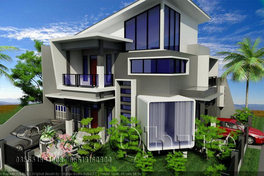 model rumah minimalis 3 lantai terbaru