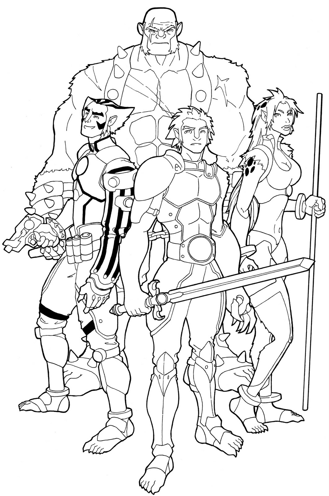 sketch paddys the new thundercats