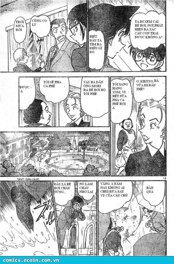 Detective Conan - Thám Tử Lừng Danh Conan chap 588 page 13 - IZTruyenTranh.com