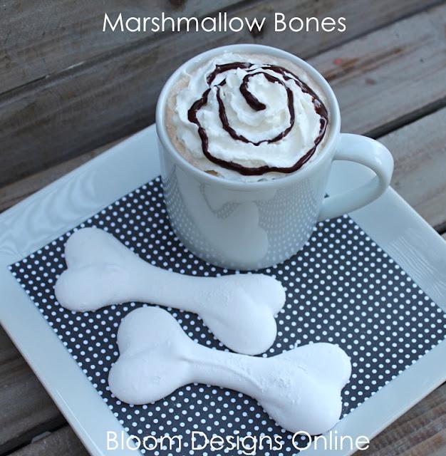 Make It Monday- Marshmallow Bones - Bloom Designs