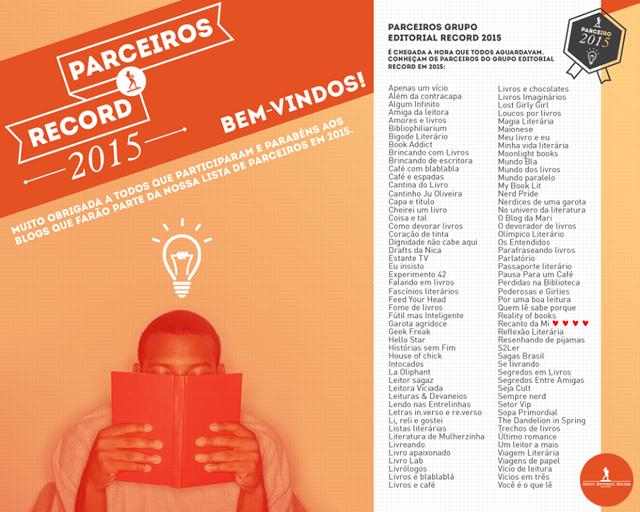 Parceria - Grupo Editorial Record