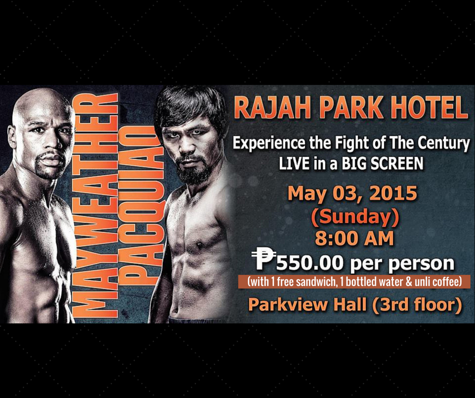 Pacquiao-vs-Mayweather-Rajah-Park-Hotel