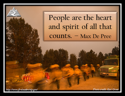 People are the heart and spirit of all that counts. - Max De Pree