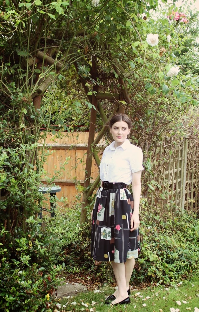 sweet vintage outfit via lovebirds vintage