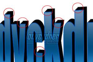 Desain Teks Trendy 3 Dimensi di Photoshop