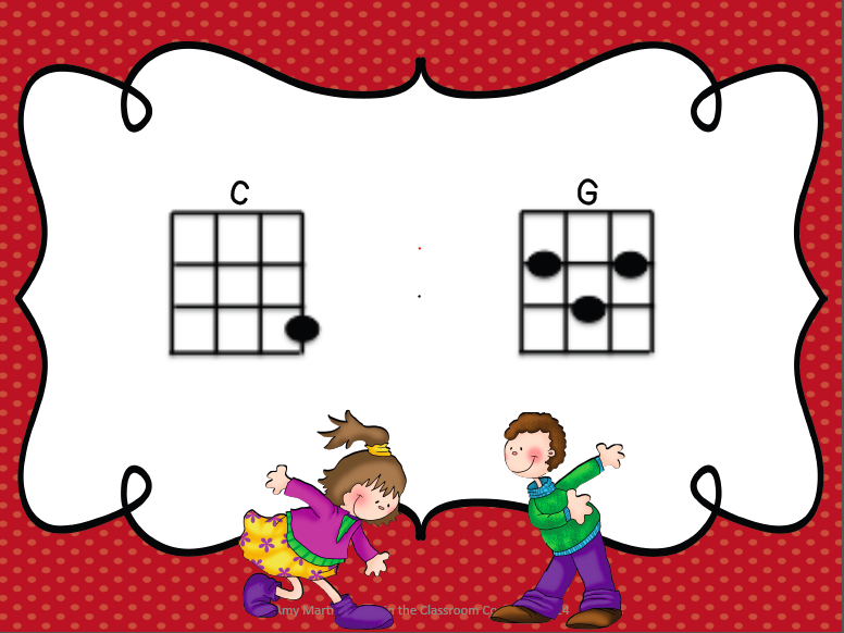 Treble In The Classroom 2 Chord Ukulele Song Freebie Buffalo Gals