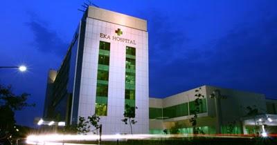Hasil gambar untuk alamat rs eka hospital