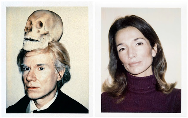 Andy Warhol Polaroids / Lee Radziwill