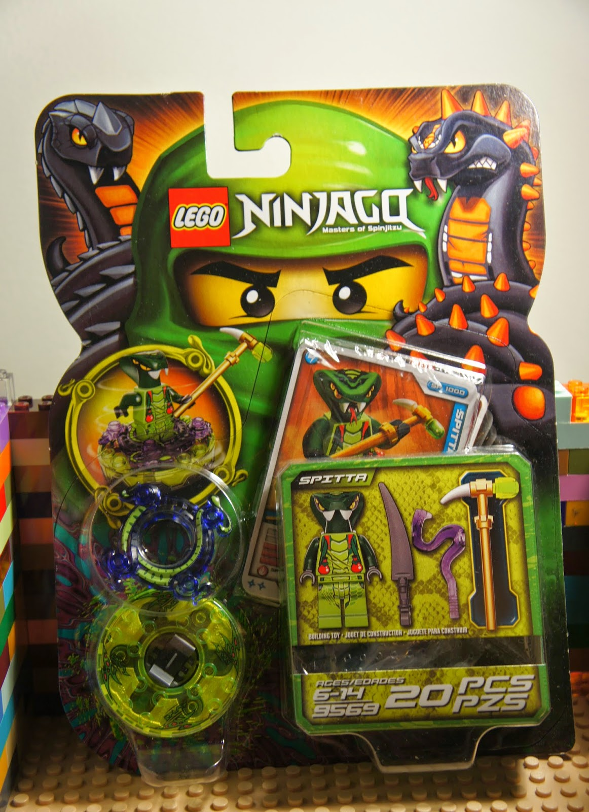 Lego 9569 ninjago spitta venomari snake minifigure w - Serpent lego ninjago ...
