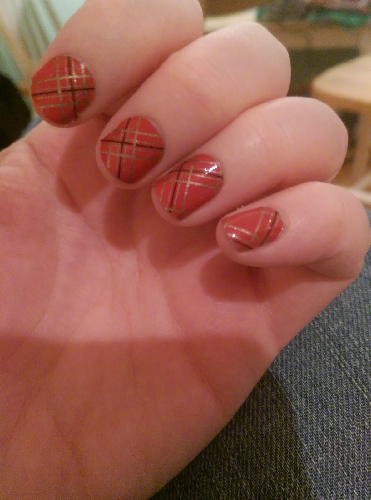 Jamberry nails tinsel town