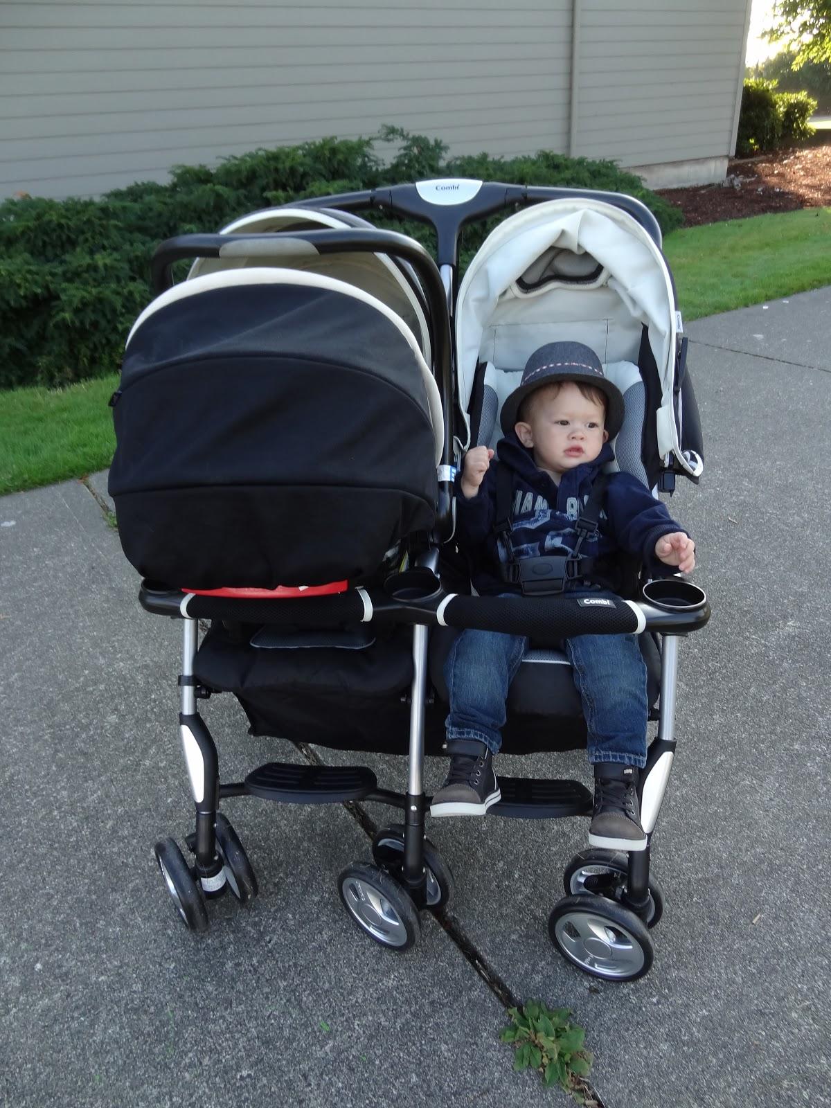 bargain: combi double stroller
