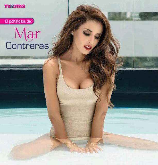 Mar Contreras Revista TvNotas - Agosto 2015