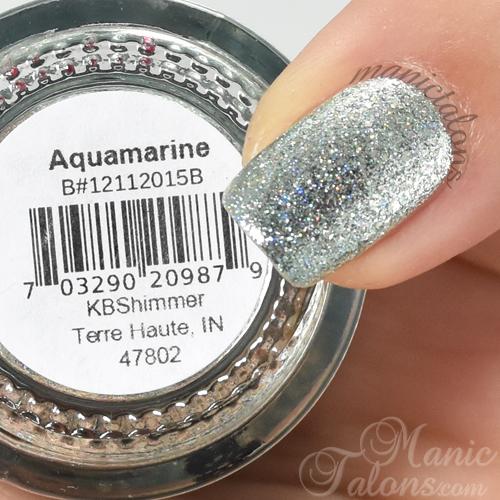 KBShimmer Aquamarine Swatch
