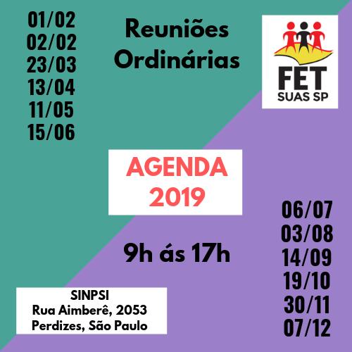 Agenda - FET 2019