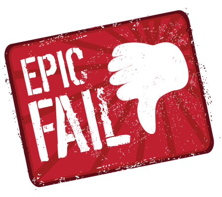 Epic fail icon