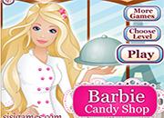 juegos de cocina Barbie Candy Shop
