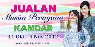 Kamdar Deepavali Festive Season Sale 2012