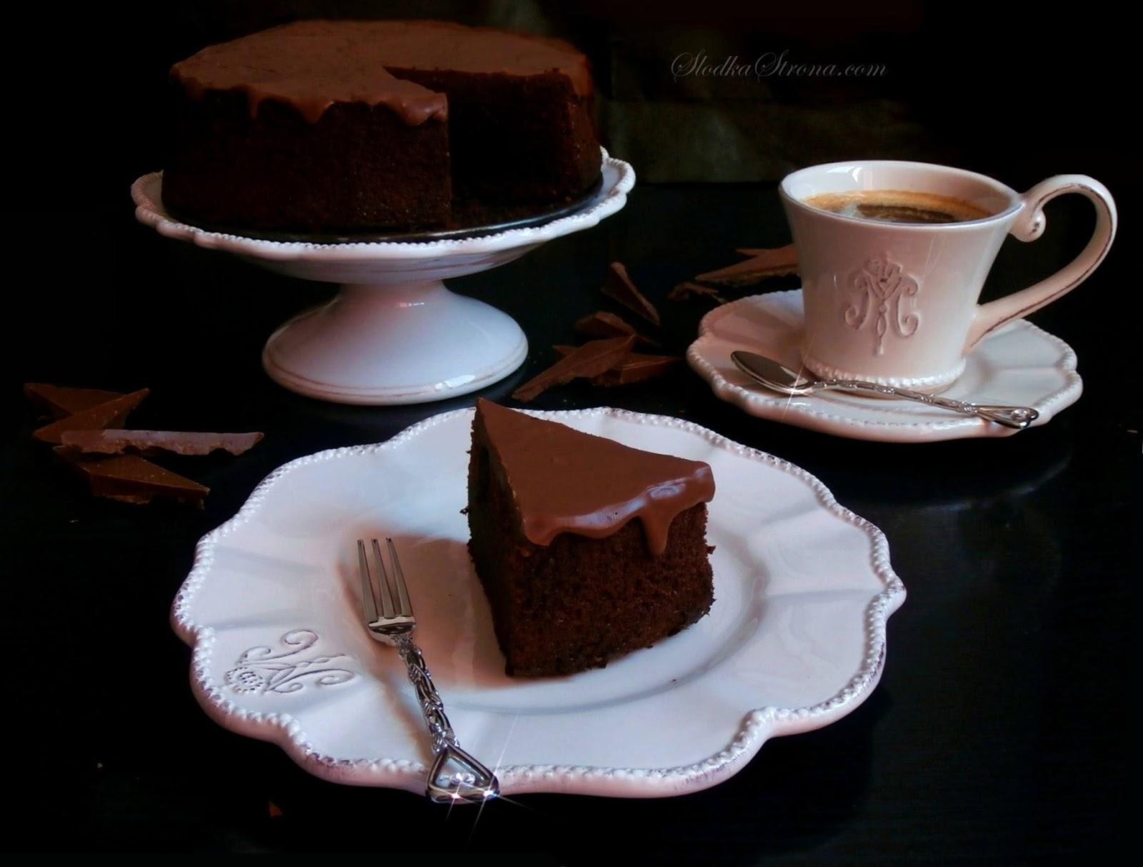 Proste Czekoladowe Ciasto - Przepis - Słodka Strona