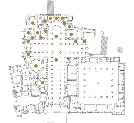 Plano catedral de Santiago