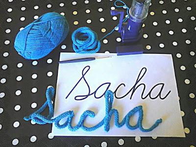 S cotine tricotin mon namour pr nom pour baby love tricotinpowa flashback part one - Que faire avec un tricotin rond ...