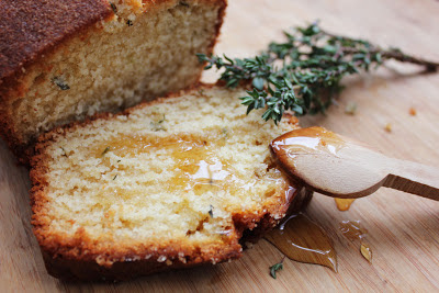Let Her Eat Cake: Lemon &amp; Thyme Madeira Cake