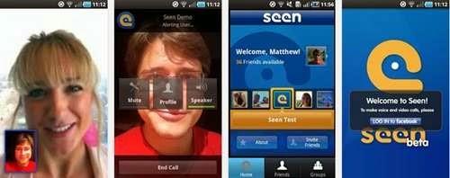 Video calls di facebook