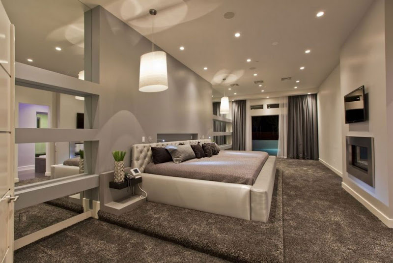 Modern Luxury Master Bedroom Designs