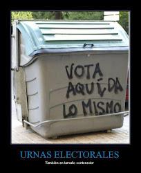 DEMOSLES LA ESPALDA... ¡¡NO VOTAR!!.