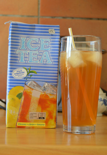 showing you the best ice tea ever