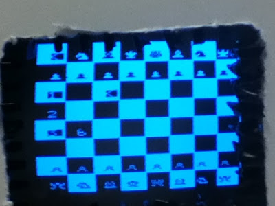 Touch screen Chess Game using ATMega 644