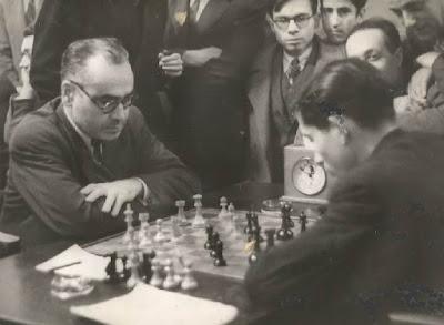 Partida Vilardebó-Beltrán del Campeonato de Ajedrez de Catalunya 1946