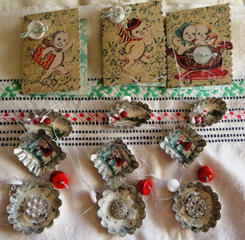 Indulge Your Shelf: Christmas Ornament Swap pt. 2