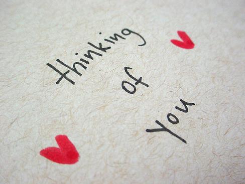 loving you thinking of you