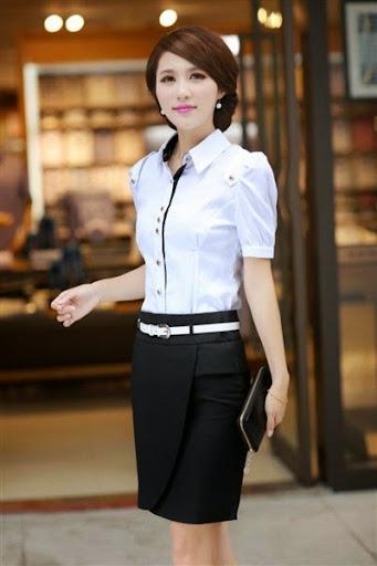 Model busana kerja wanita korea terbaru 2017/2018