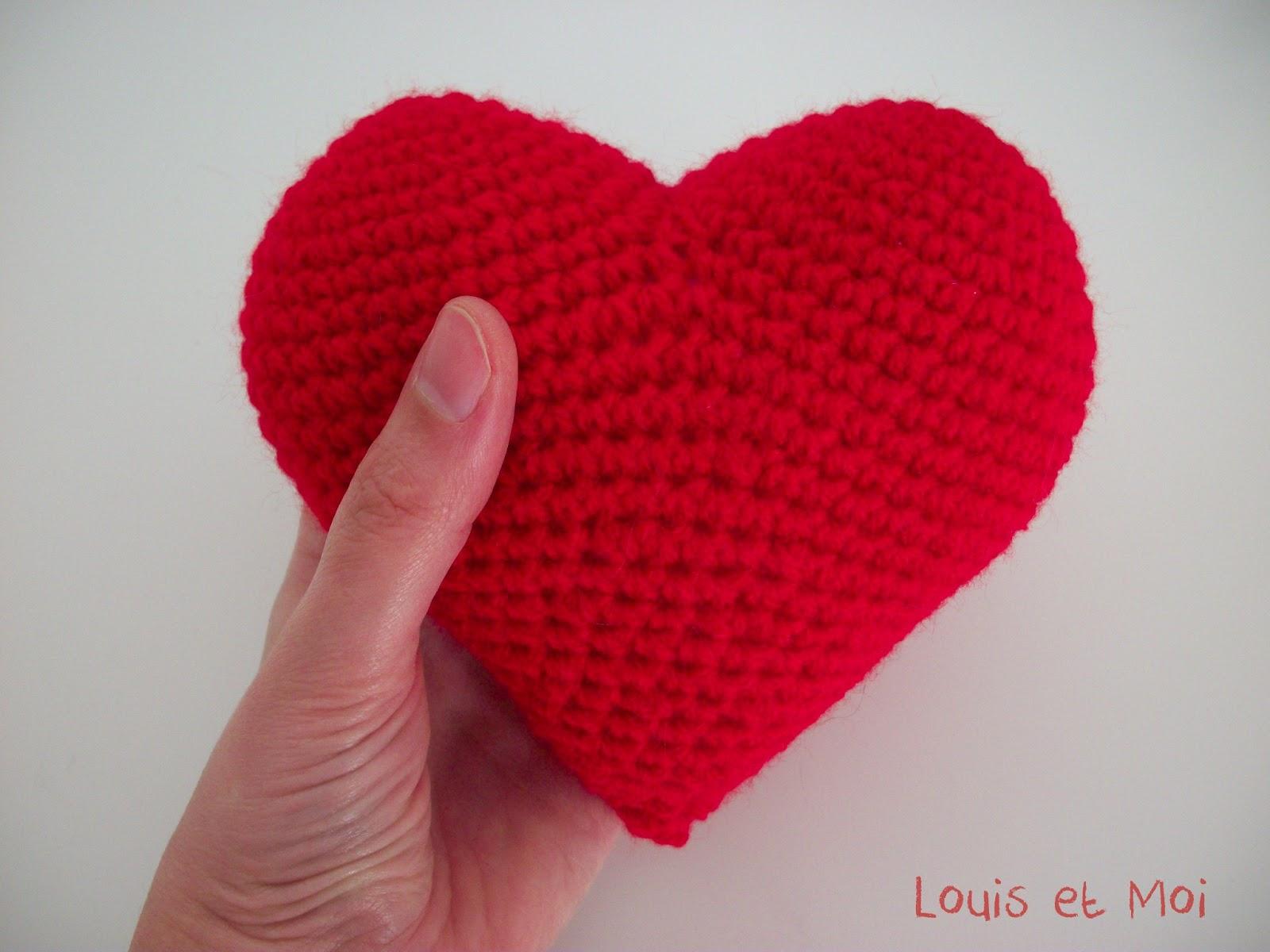 Encantador Patrón De Crochet Para Un Corazón Ideas - Manta de Tejer ...
