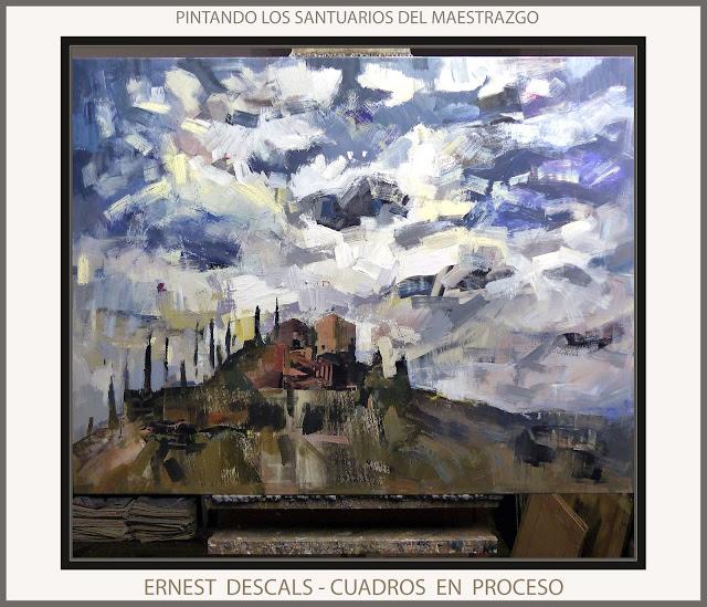 SANTUARIOS-MAESTRAZGO-PINTURAS-PROCESO-TERUEL-CUADROS-PINTURA-PINTOR-ERNEST DESCALS-
