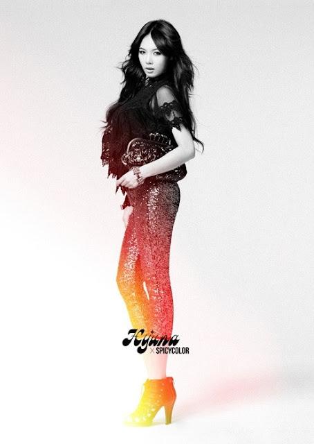 Hyuna x Spicycolor