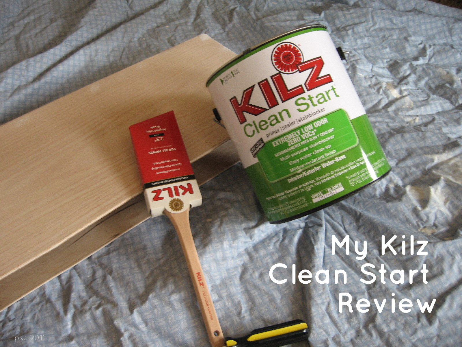 Pickup Some Creativity: Kilz Clean Start Primer and a Giveaway ...