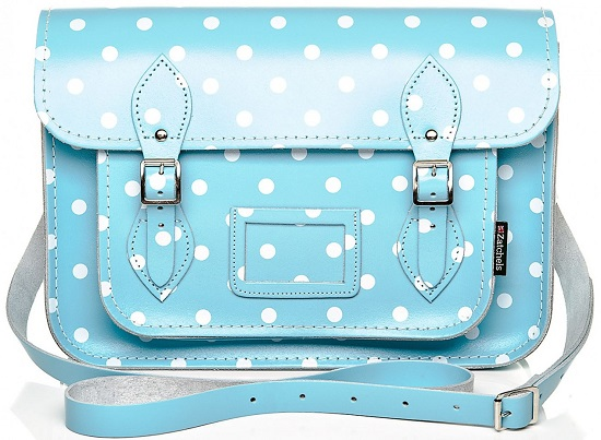 lust list- trendy satchels+polka dotted satchels+satchels+ladies handbags