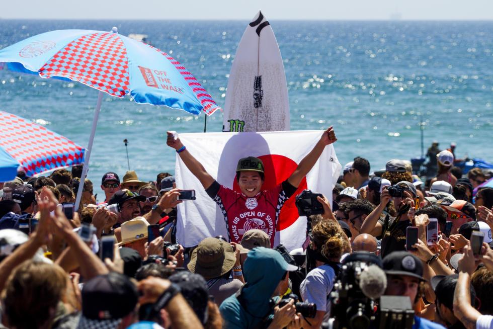 3 Hiroto Ohhara JPN Vans US Open of Surfing Foto WSL Sean Rowland