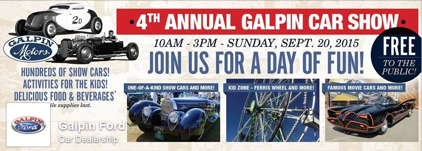 Just A Car Guy This Weekend Is The Annual Galpin Ford