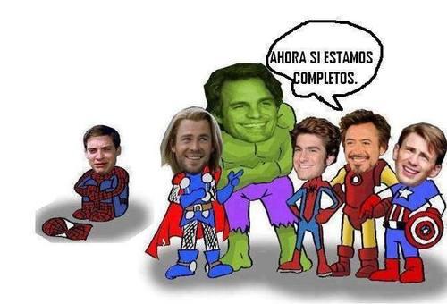 Los Vengadores al completo